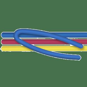 Αφρώδης Σωλήνας Κολύμβησης 'Μακαρόνι' 150x6cm (42-456)