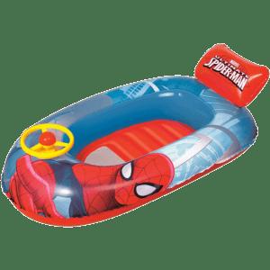 Bestway Βάρκα Με Τιμόνι Spiderman 112x71cm (98009)