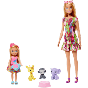 Barbie Club Chelsea: The Lost Birthday Dolls, Pets And Accessories (GTM82)