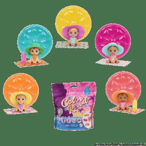 Mattel Barbie® Pets Color Reveal™ Summer Series (GTT25)