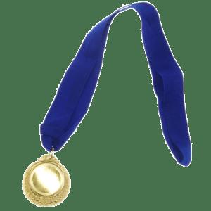 Μετάλλιο Σε Χρυσαφί Χρώμα Ø5εκ. (35257)