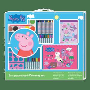 Peppa Pig Σετ Ζωγραφικής 54x47εκ (0482618)