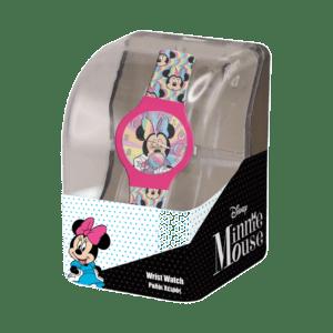 Ρολόι Με Λουράκι Minnie Σε Πλαστικό Κουτί (562693)