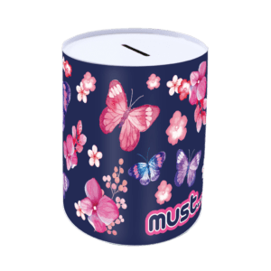 Must Κουμπαράς Μεταλλικός Butterfly (0584274)