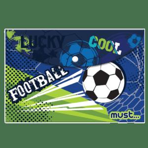 Must Φάκελος με Κουμπί A4 Football (0584288)