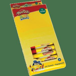 Play-Doh Κηρομπογιές 12 Χρώματα (320-30000)