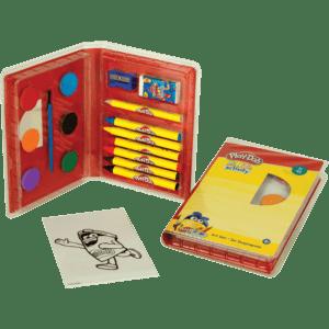 Play-Doh Mini Set Ζωγραφικής 24 τμχ (320-40001)