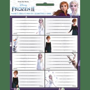 Gim Ετικέτες Αυτοκόλλητες Frozen 16τμχ (771-81246)