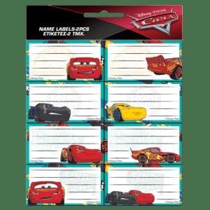 Gim Ετικέτες Αυτοκόλλητες Cars 16τμχ (772-16846)