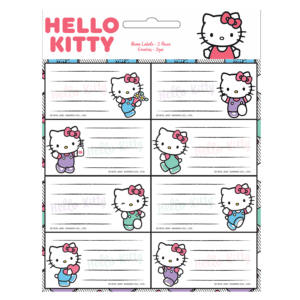 Gim Ετικέτες Αυτοκόλλητες Hello Kitty 16τμχ (776-77246)