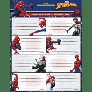Gim Ετικέτες Αυτοκόλλητες Spider-Man 16τμχ (777-51846)