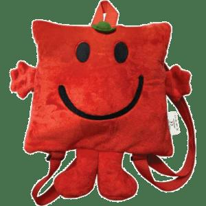 Μικροί Κύριοι - Kύριος Δυνατός Λούτρινη Τσάντα Πλάτης Νηπιαγωγείου (HP.PB.003)