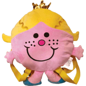Μικροί Κύριοι - Κυρία Πριγκίπισσα Λούτρινη Τσάντα Πλάτης Νηπιαγωγείου (HP.PB.002)