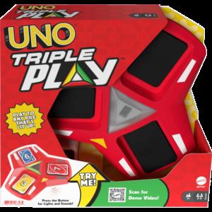 Mattel UNO® Triple Play™ (HCC21)