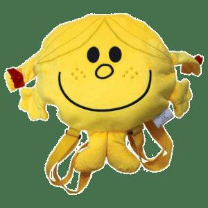 Μικροί Κύριοι - Κυρία Γελαστούλα Λούτρινη Τσάντα Πλάτης Νηπιαγωγείου (HP.PB.001)