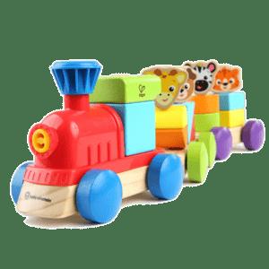 Hape-Baby Einstein Kids II Ξύλινο Harmony Τρενάκι (800809)