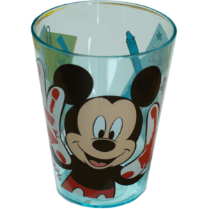 Disney Mickey Mouse Ημιδιάφανο Πλαστικό Ποτήρι 250ml (6528300)