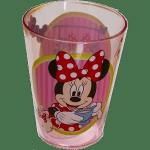 Disney Minnie Mouse Ημιδιάφανο Πλαστικό Ποτήρι 250ml (6970300)