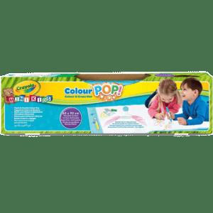 Crayola Mini Kids Colour & Εrase Mat, Colour Pop (81-2011-E-200)