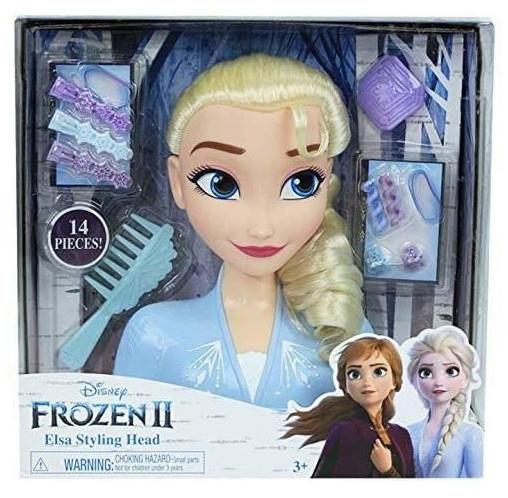 Giochi Preziosi Frozen Basic Κεφάλι Ομορφιάς Έλσα (FRND2000)