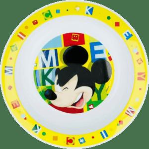 Mickey Mouse Πλαστικό Βαθύ Πιάτο (B44248)