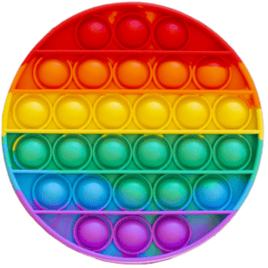 Silicone Pop Bubble Toy 13x13 cm (14236)