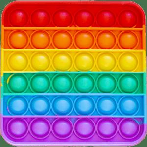 Silicone Pop Bubble Toy Square 13x13 cm (14237)