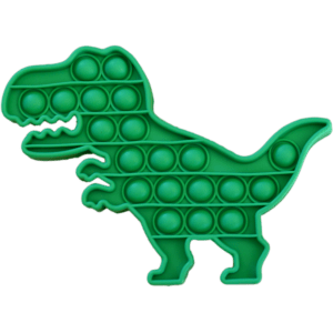 Silicone Pop Bubble Toy Dino 15x19 cm (14234)