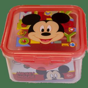 Δοχείο Φαγητού (Micro) 0,73lt Πλαστικό Mickey Mouse (44265)