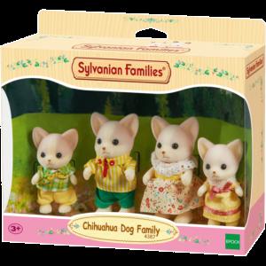 Epoch Sylvanian Families: Οικογένεια Chihuahua Dog (4387)