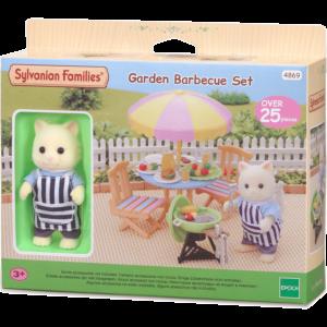 Sylvanian Families: Σετ Μπάρμπεκιου για Κήπο (4869)